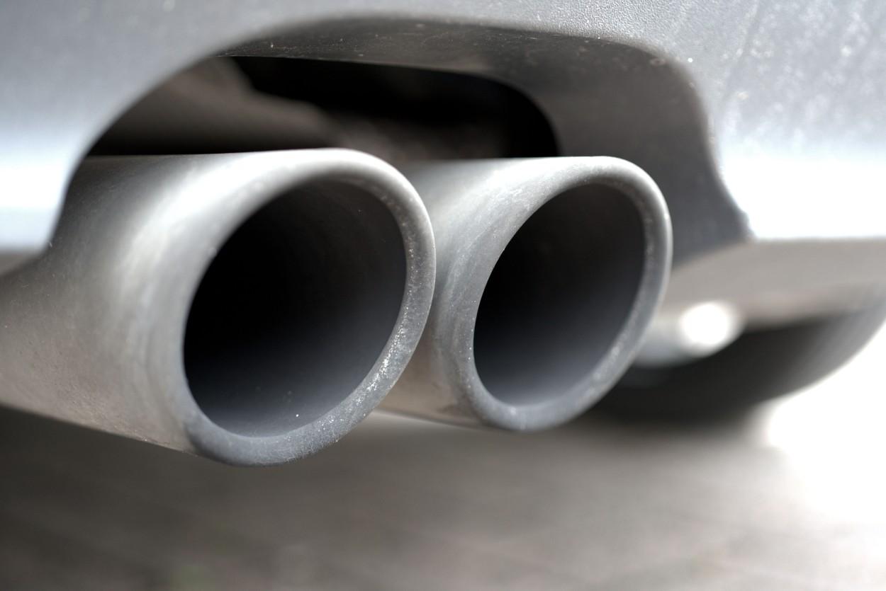 .Car exhaust