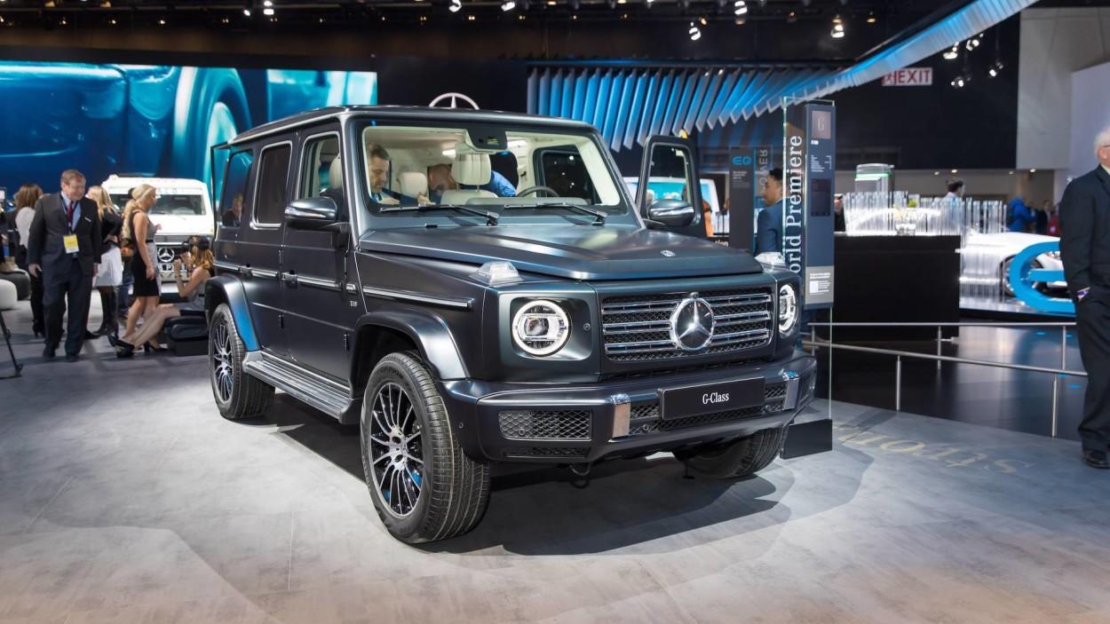 .Mercedes-Benz G-klass 2019 Detroidi autonäitusel