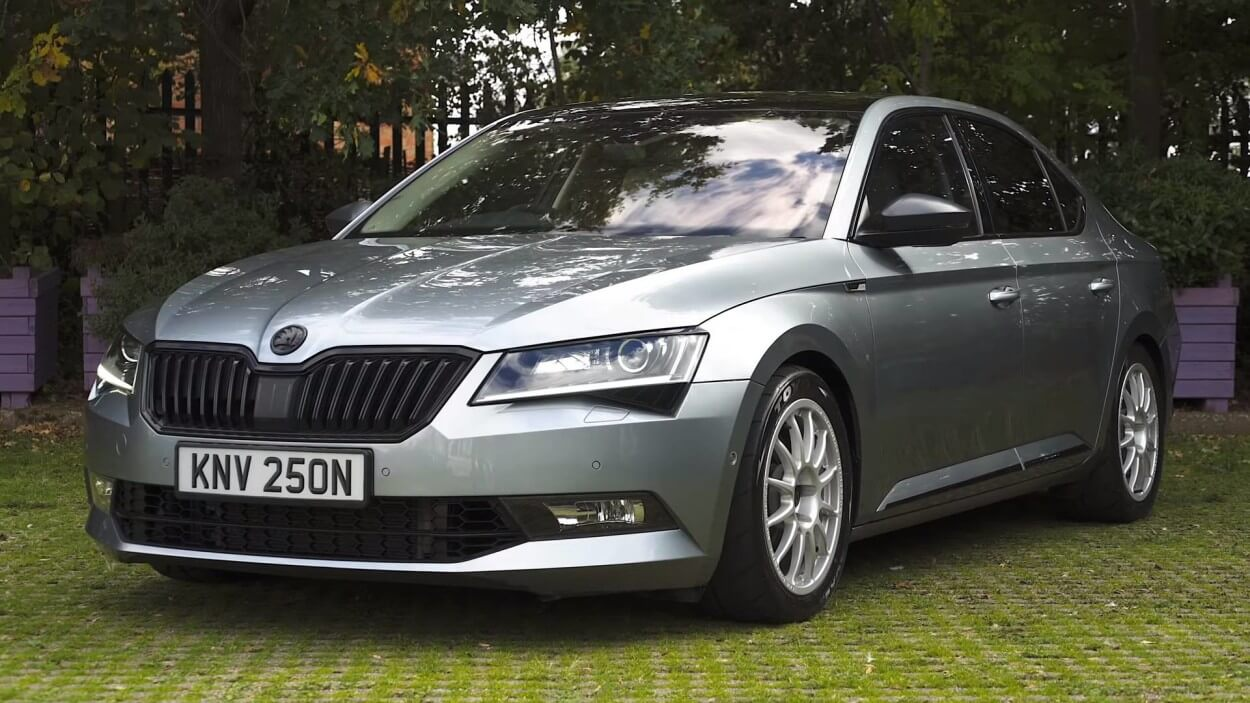 Škoda Superb sleeper ehk hunt lambanahas