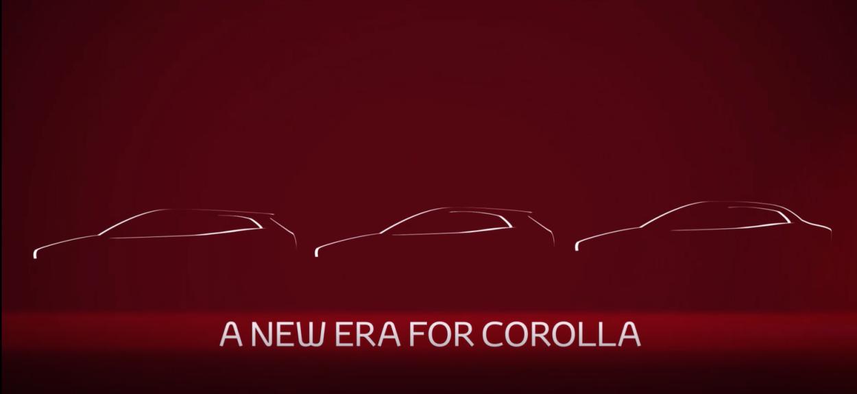 .Toyota Corolla Sedan