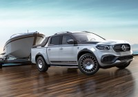 .Mercedes-Benz X-Class Yachting Edition