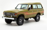Из Toyota Land Cruiser 1986 года...