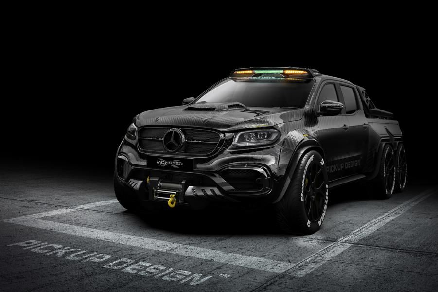 Mercedes-Benz X-Class Exy 6x6 by Carlex Design
