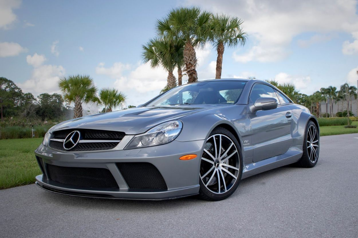 Mercedes-Benz SL65 AMG Black Series by Renntech