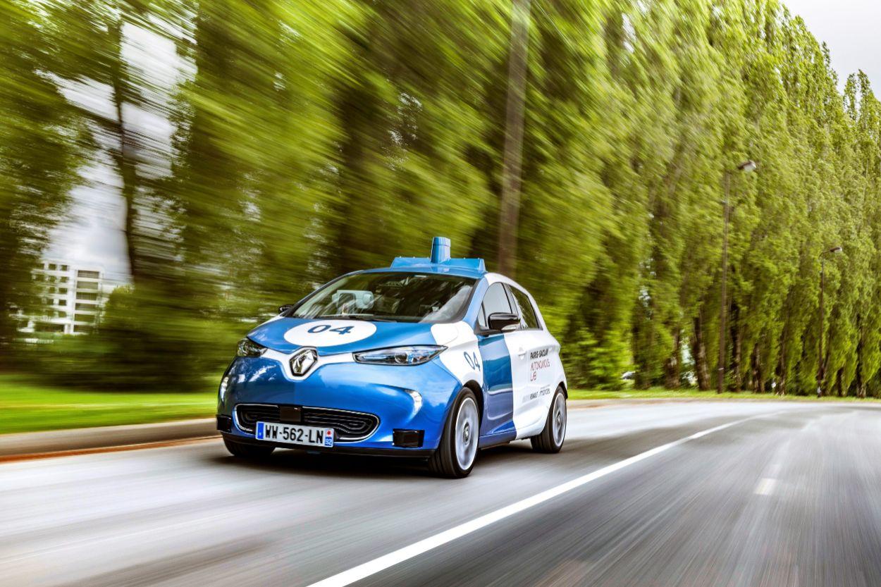 .Renault Zoe Cab