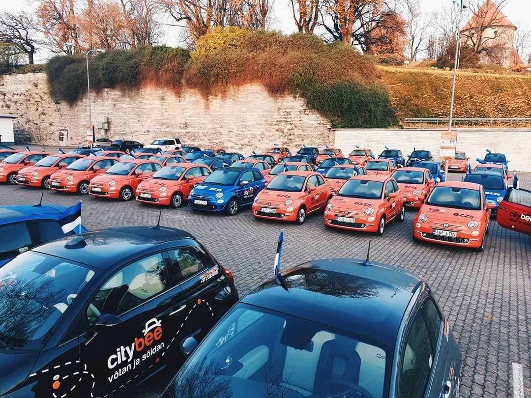 .Fiat 500 (Foto: CityBee)