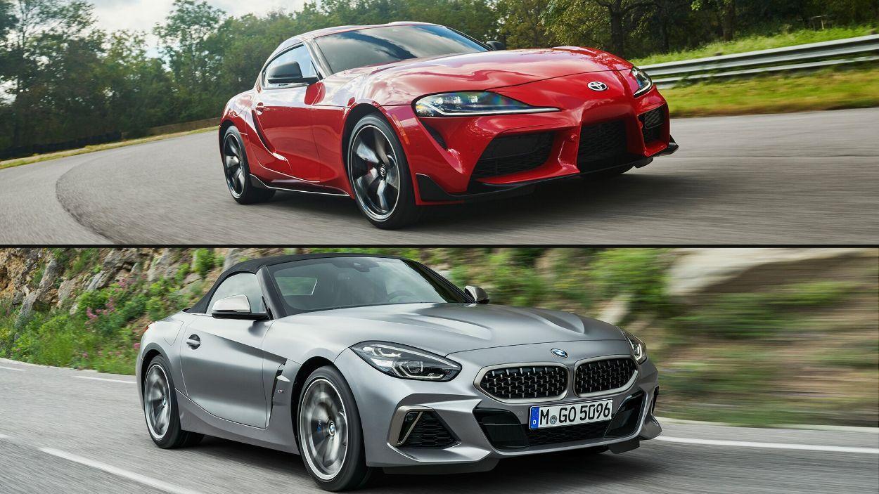 .BMW Z4 & Toyota Supra