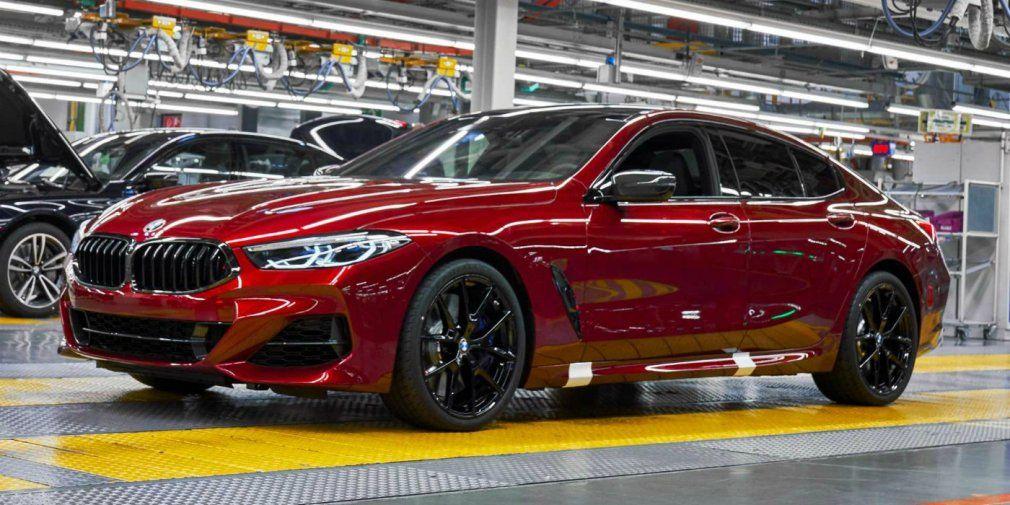 .BMW 8-Series Gran Coupe