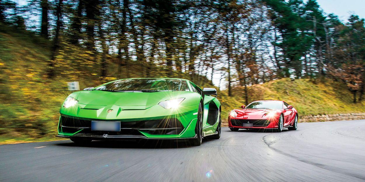 .Ferrari & Lamborghini