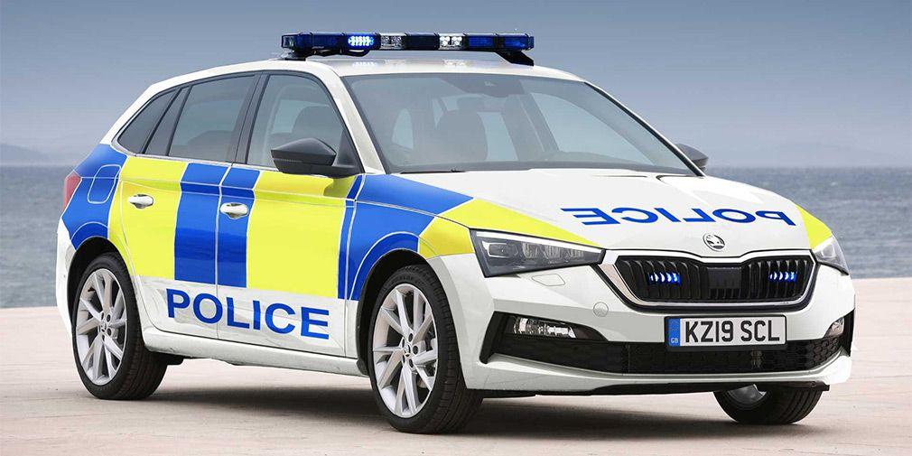 .Skoda Scala Police