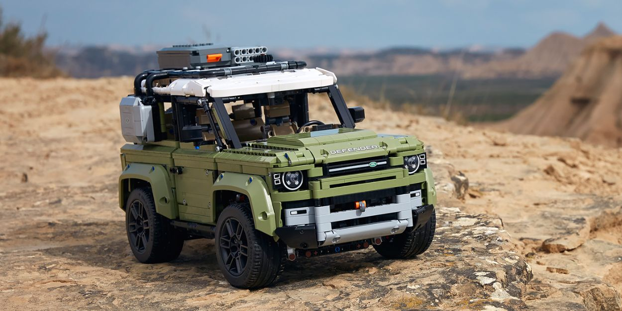 .Land Rover Defender Lego Technic