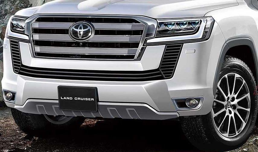 .Toyota Land Cruiser 300