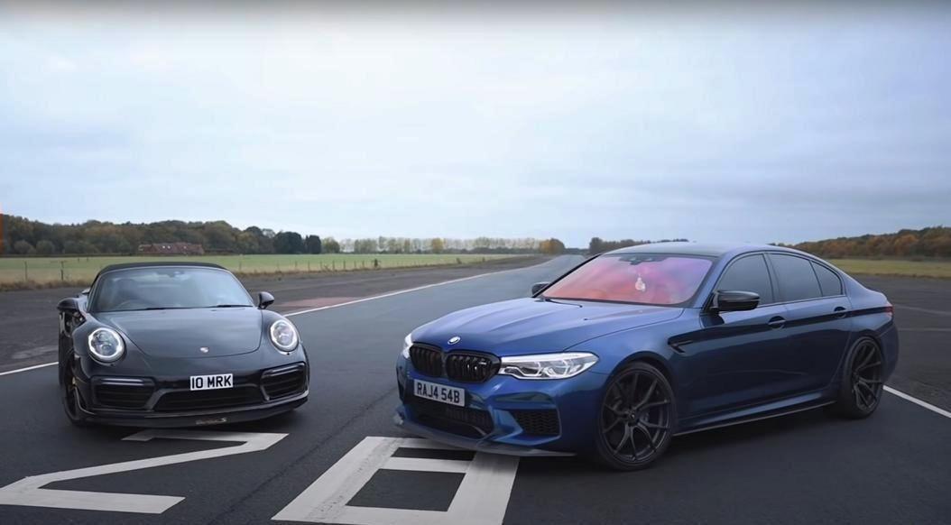 .BMW M5 Competition & Porsche 911 Turbo S