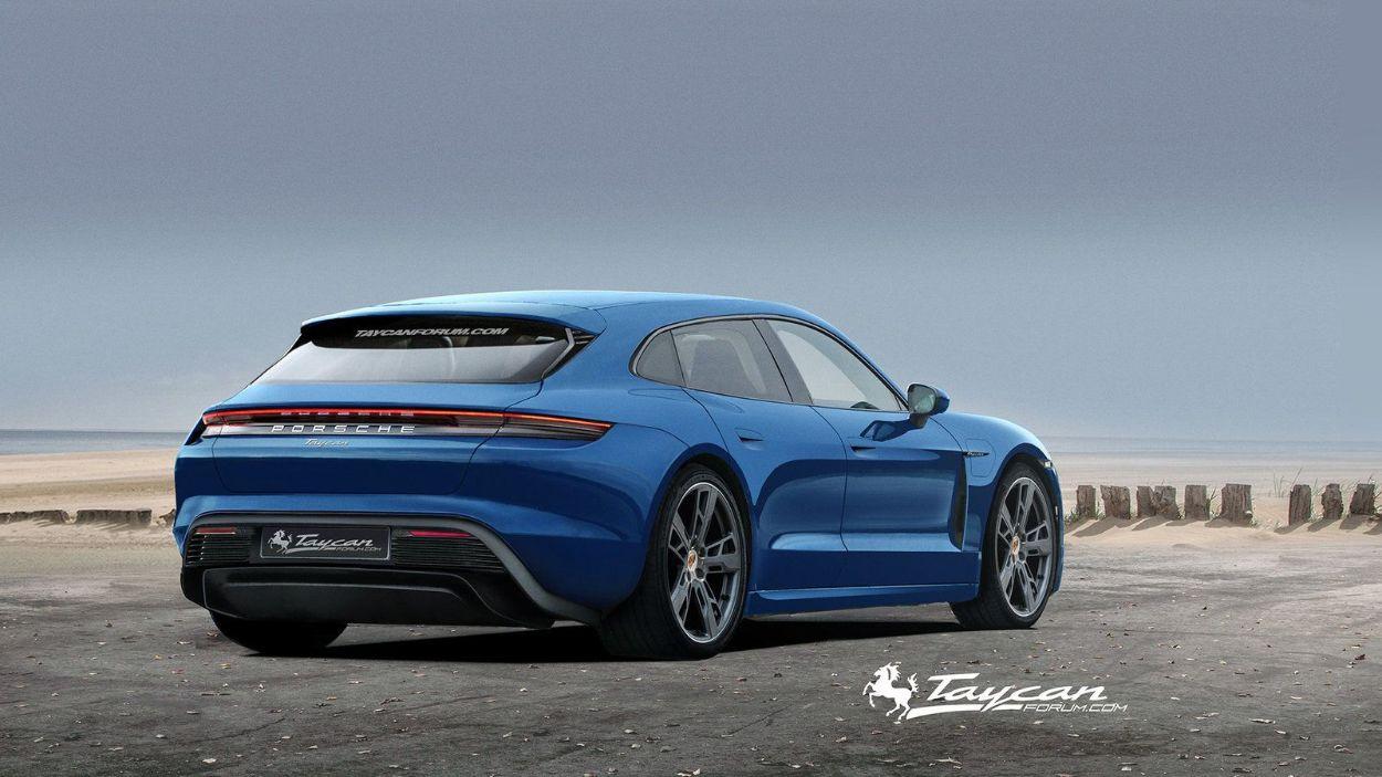 .Porsche Taycan Sport Turismo