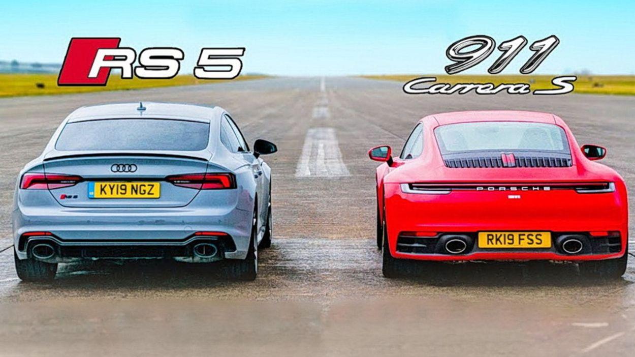 .Audi RS5 Sportback & Porsche 911 Carrera S