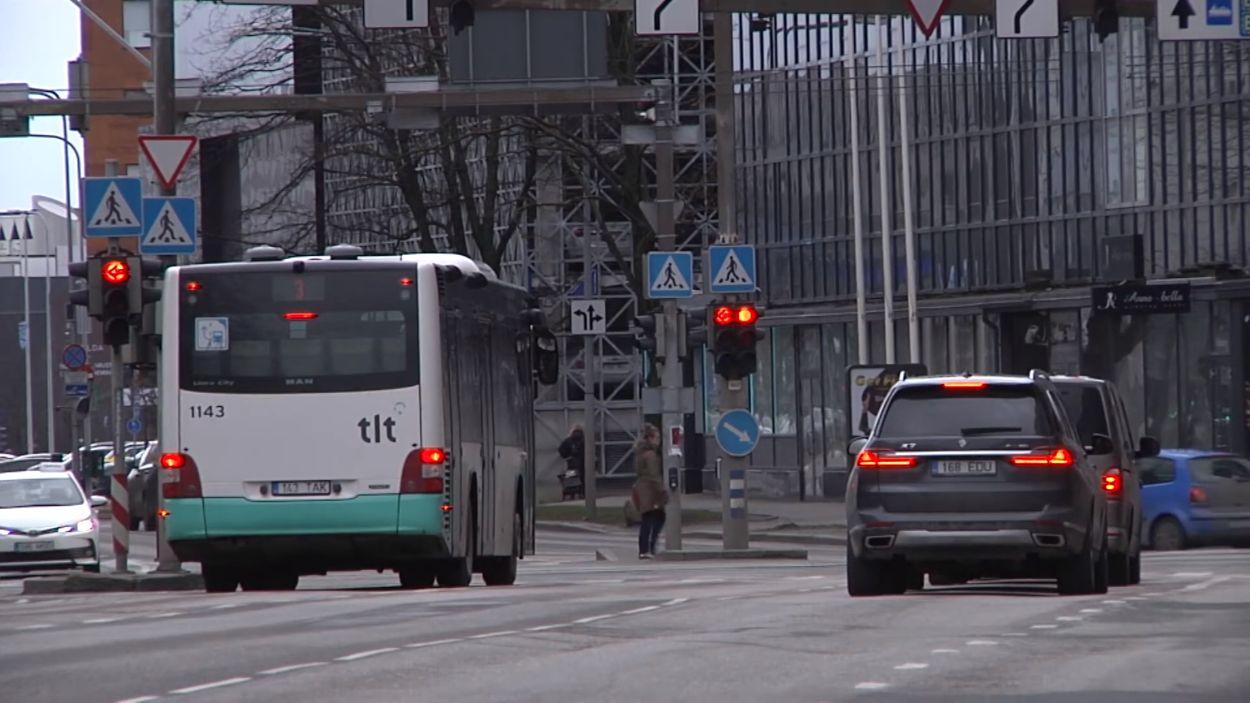.Liiklus, Jõe tänav, Tallinn