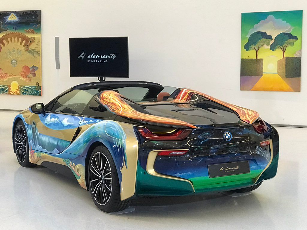 BMW i8 Roadster 4 Elements