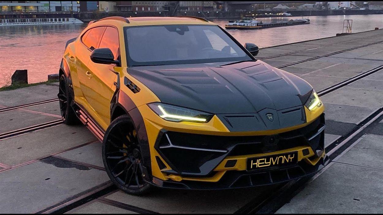 Lamborghini Urus by Keyvany