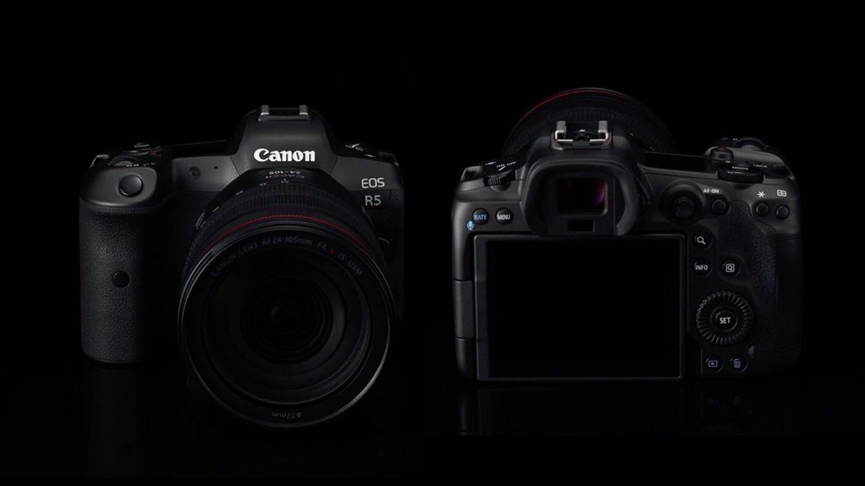 .Canon EOS R5