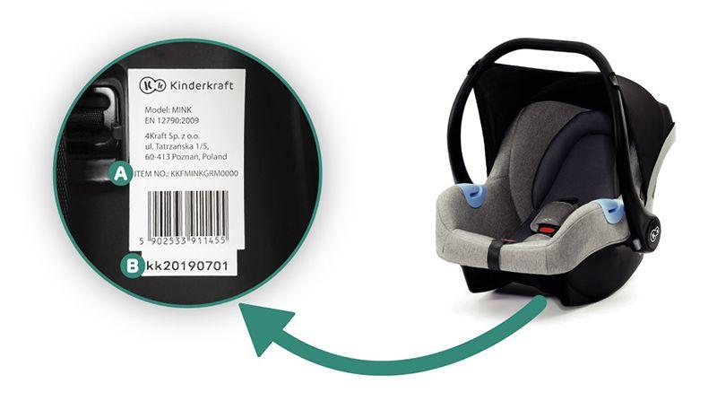 .Kinderkraft MINK turvatool