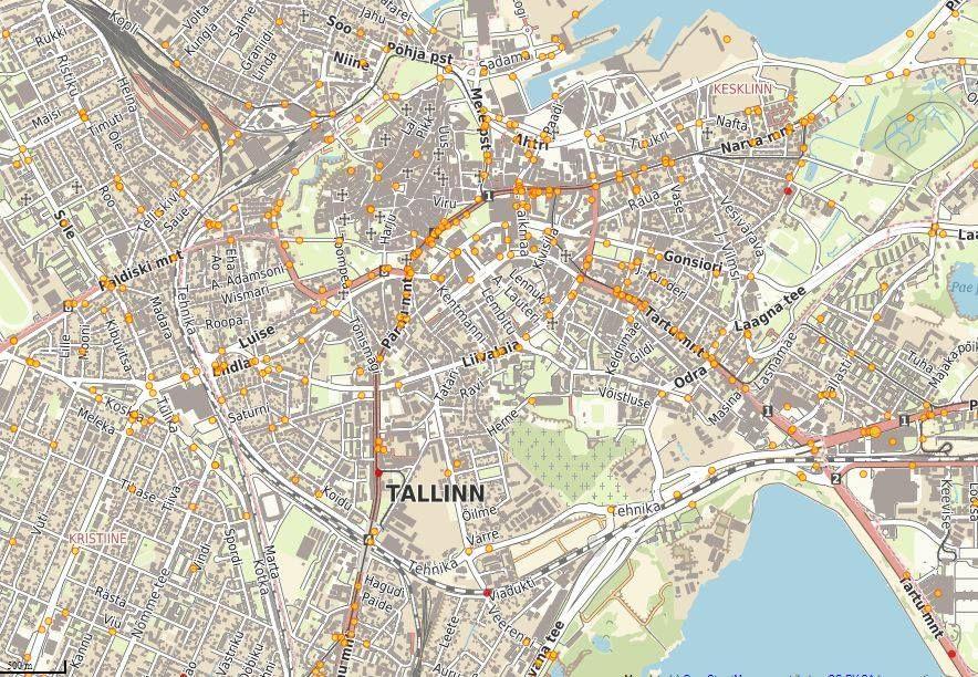 .Kesklinna kaart