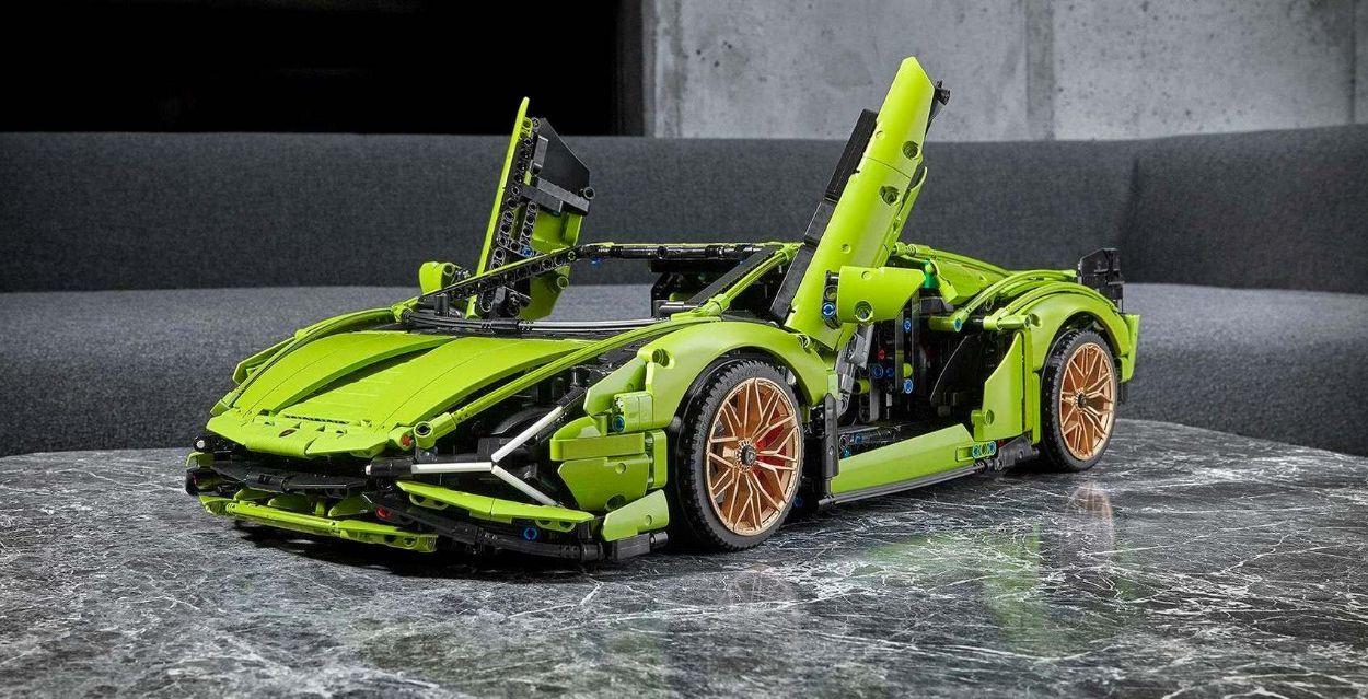 .Lamborghini Sian by Lego Technic