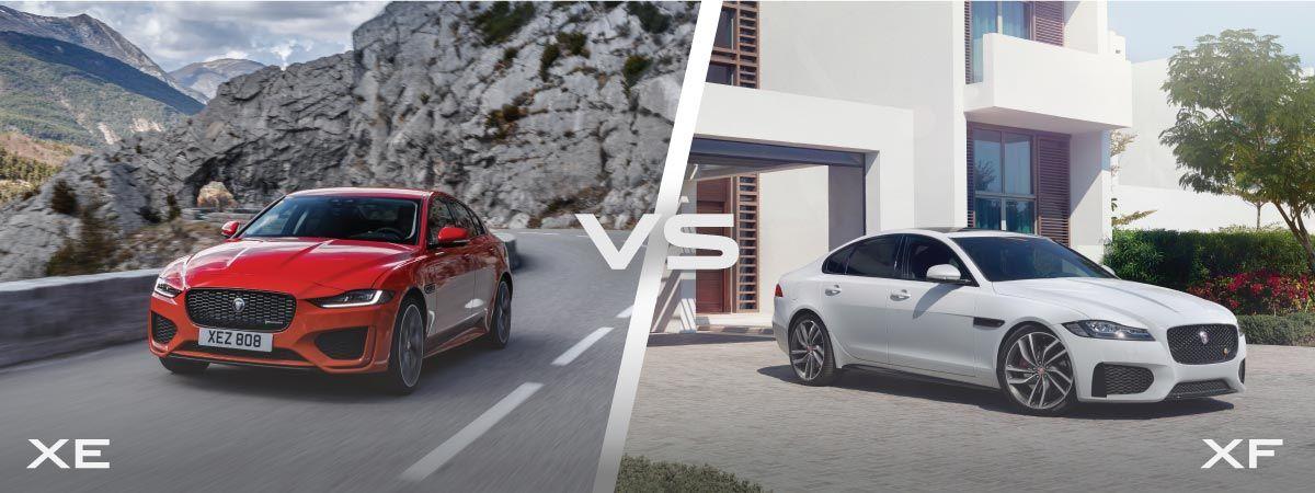 .Jaguar XE и XF