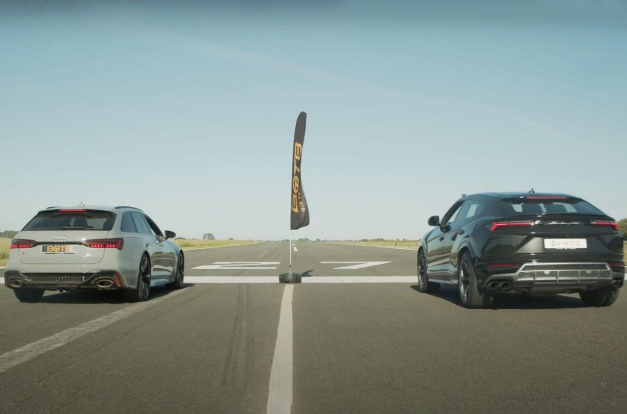 .Audi RS6 Avant vs Lamborghini Urus