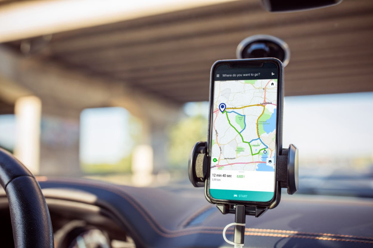 .Mobiiltelefon, GPS