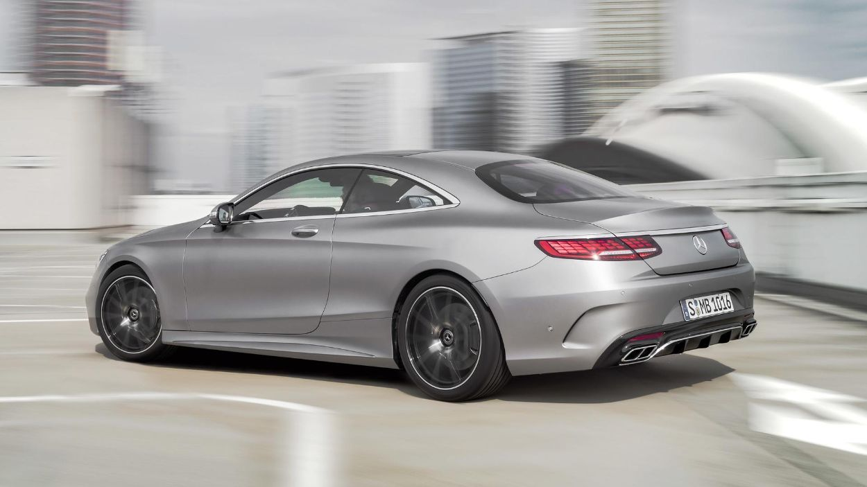 .Mercedes-Benz S Coupe
