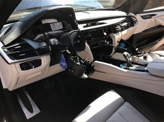 .Rüüstatud BMW (Foto: Salva kindlustus)