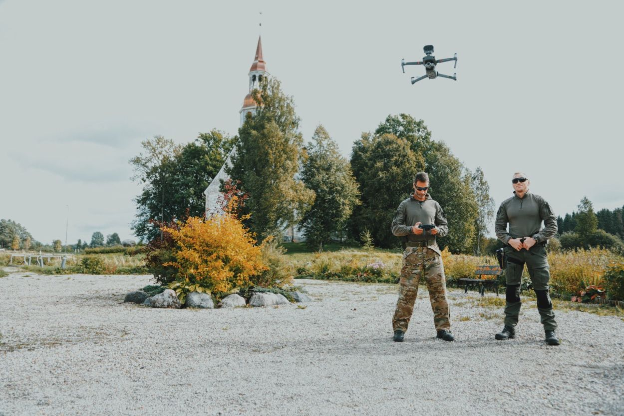 .Politsei droon