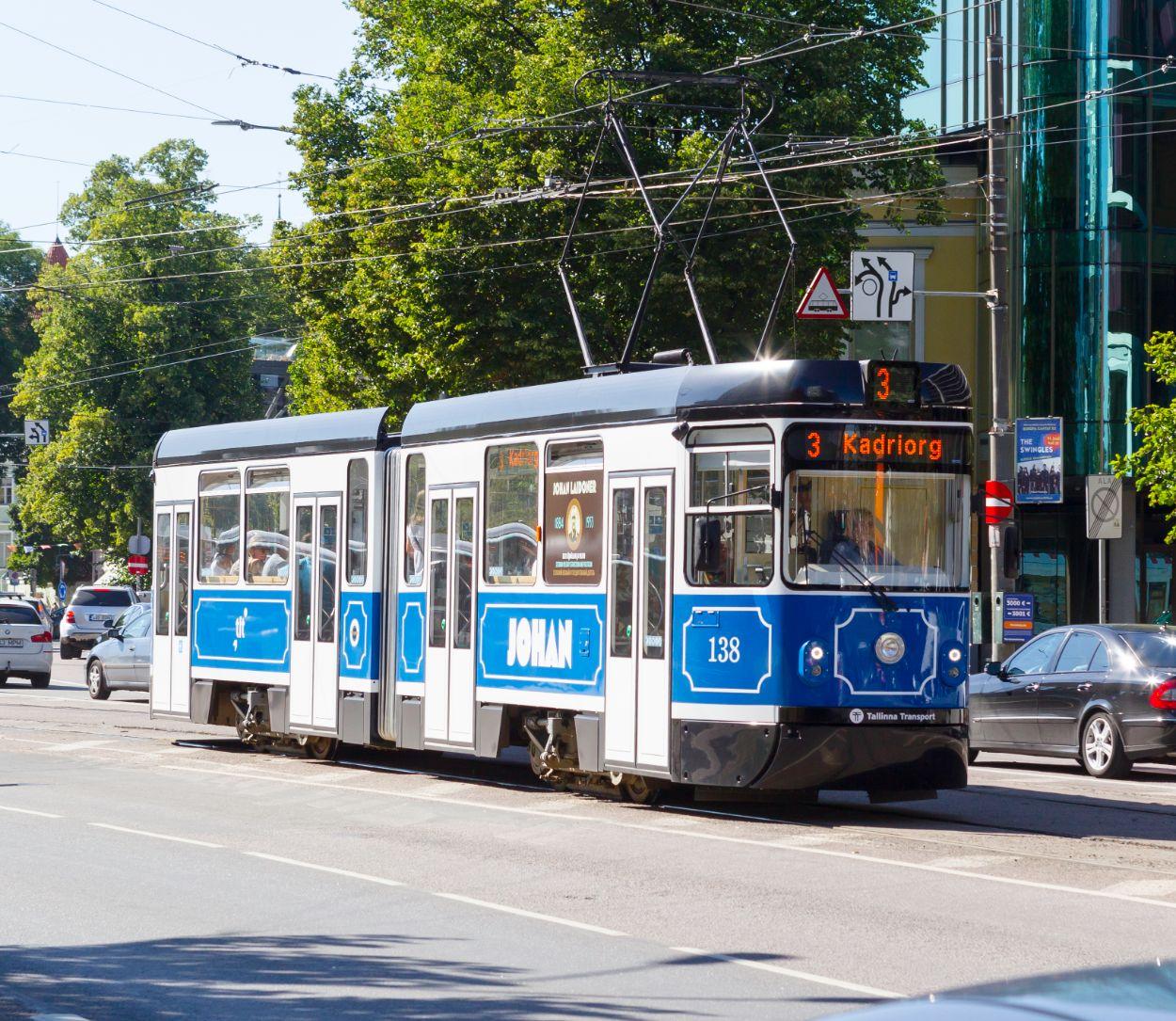 .Tramm (Foto: Tallinna Linnatranspordi AS)