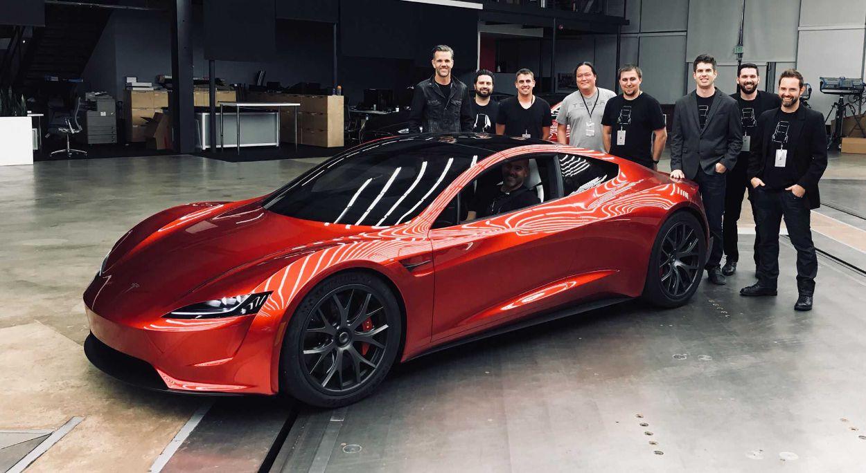 .Tesla Roadster