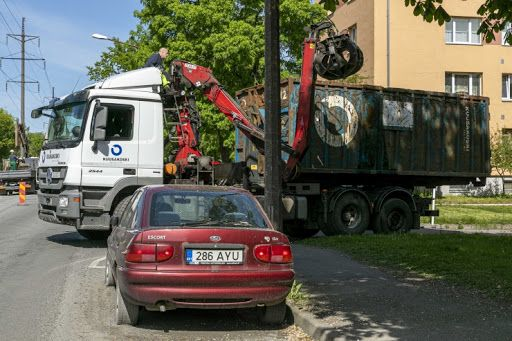 .Hüljatud auto (Foto: Mupo)