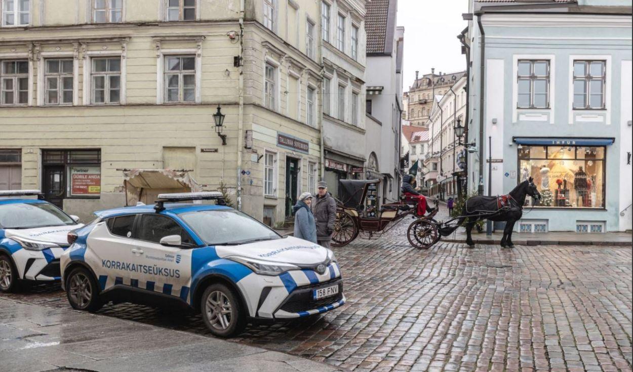 .MuPo patrull (Foto: Tallinna Munitsipaalpolitsei Amet)
