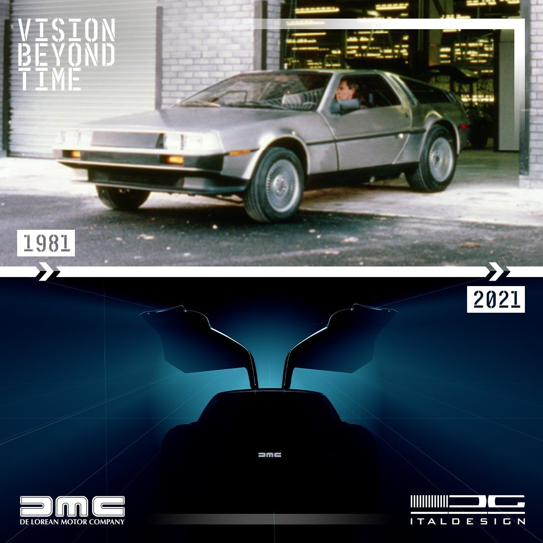 .DeLorean DMC-12