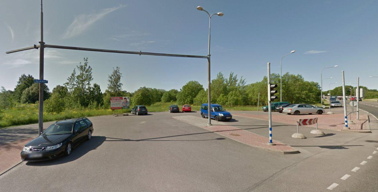 .Mustakivi tee lõpp (Foto: Google maps)